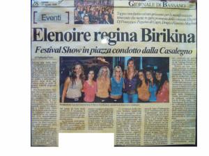 2005 Agosto Giornale di Vicenza