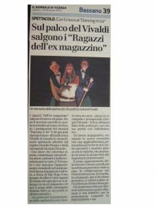 2009 Gennaio Giornale di Vicenza