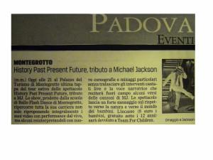 2009 Ottobre Gazzettino di Padova