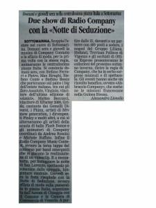 2011 Agosto Gazzettino di Venezia bis