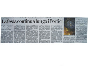 2011 Settembre Giornale di Vicenza bis