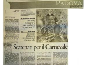 2012 Febbraio Gazzettino di Padova