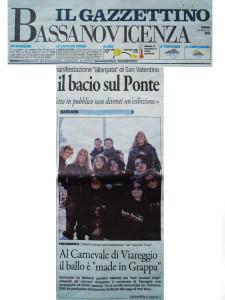 2012 Febbraio Gazzettino di Vicenza