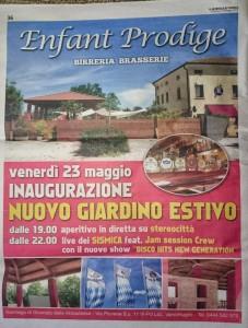 2014 Maggio Giornale di Vicenza