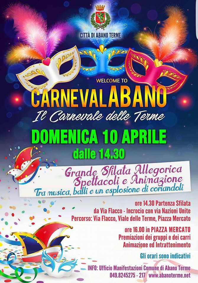 Carnevale 10 aprile
